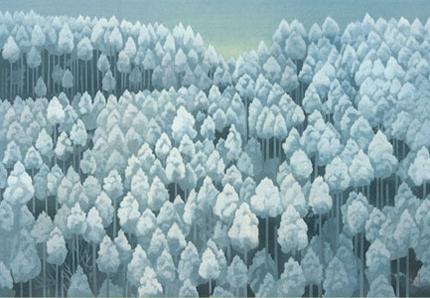 東山魁夷雪