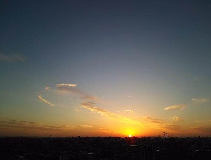 161116夕陽 (1)