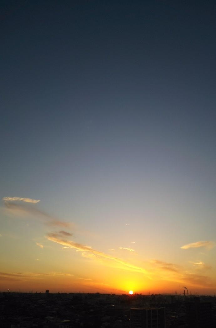 161116夕陽 (2)