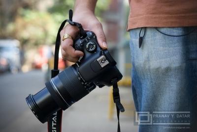 カメラ片手に