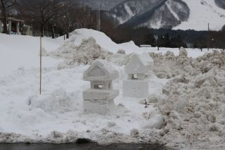 雪まつり準備2