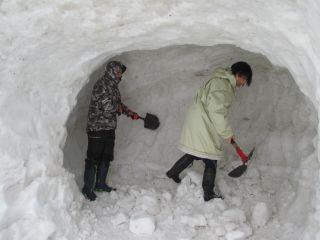 雪まつり準備5