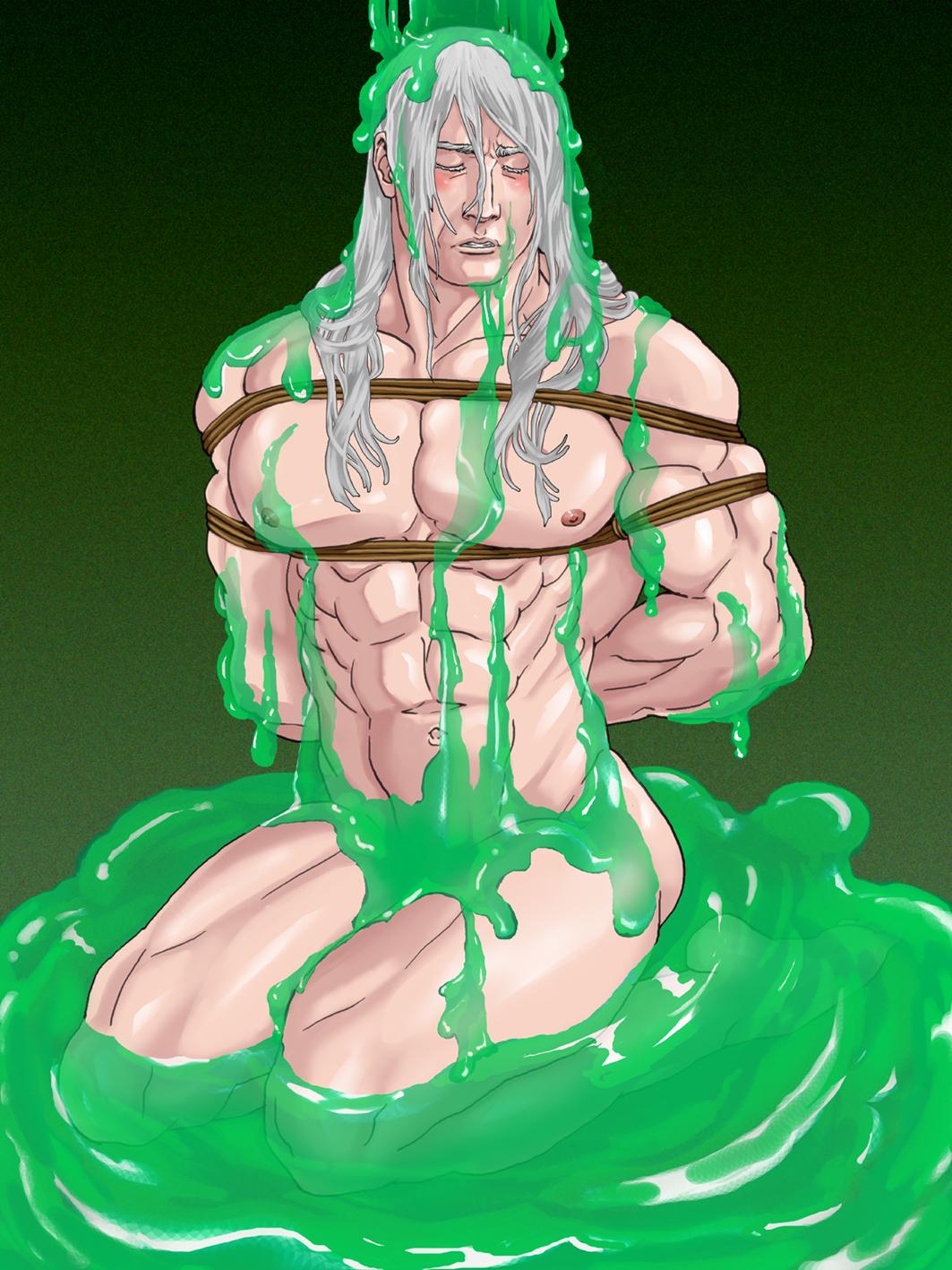 緑スライムライデン