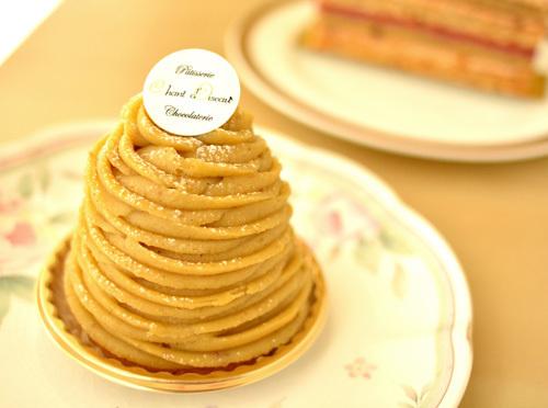 【ケーキ】シャンドワゾー「モンブラン」 (2)