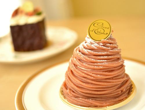 【ケーキ】シャンドワゾー「モンブラン・ア・ラ・フランセーズ」 (2)