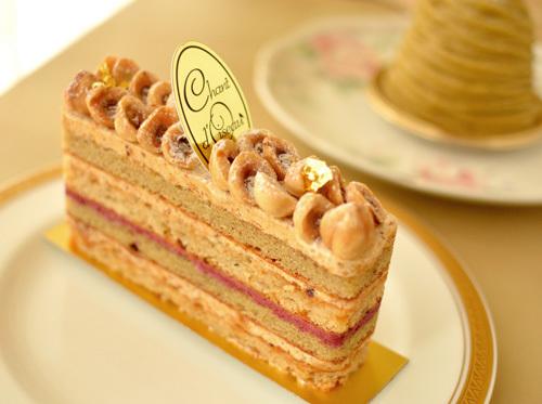 【ケーキ】シャンドワゾー「デリ カシス ド スーボワ」 (2)