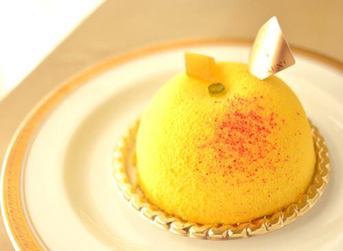 【ケーキ】カフェミクニズ「パンプルムースロゼ」