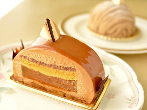 【ケーキ】カフェミクニズ「キャラメルポンム」