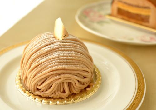 【ケーキ】カフェミクニズ「モンブラン」 (1)