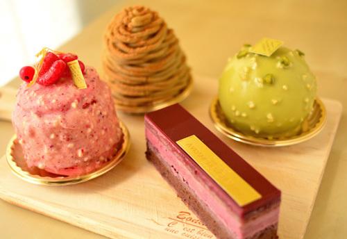 【ケーキ】アヴランシュゲネー_170108 (1)
