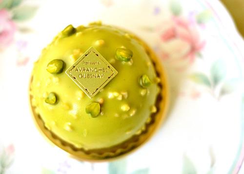 【ケーキ】アヴランシュゲネー「ピスターシュ」 (2)