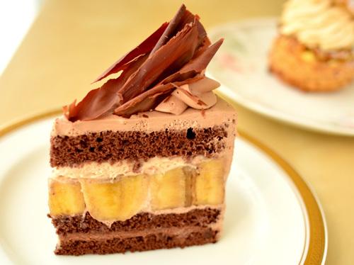 【ケーキ】リョウラ「ショコラバナーヌ」 (2)
