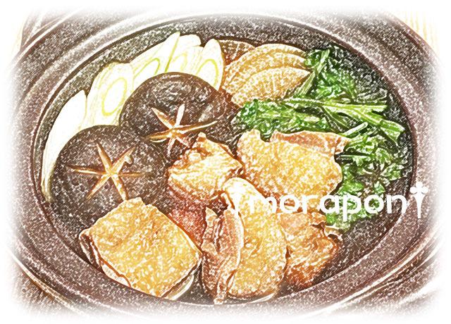 161129 鶏すき鍋-2