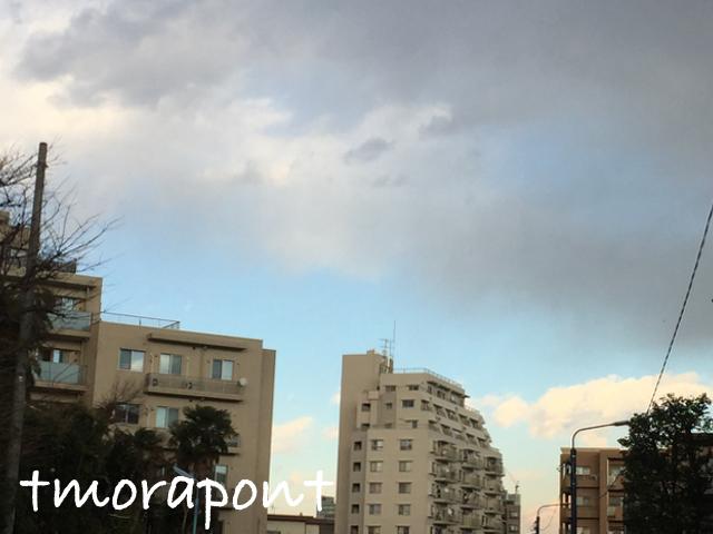 170113 雲を見ながら昼散歩歩-2