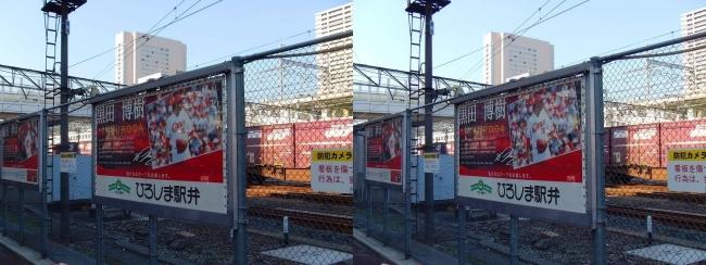 マツダスタジアム カープロード 黒田パネル(平行法)