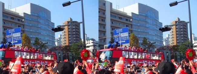 優勝パレード 2016.11.5⑥(平行法)