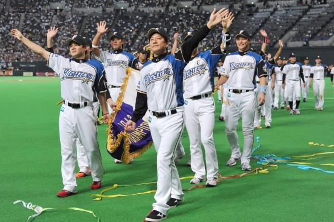 日本ハム 2016年パ・リーグ制覇