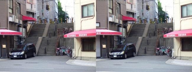 長堀通③(平行法)