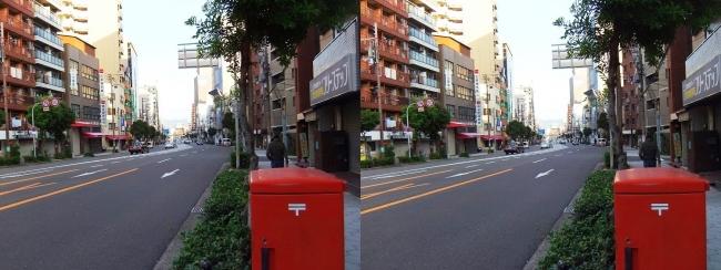 長堀通①(平行法)