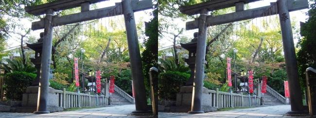 三光神社⑦(交差法)