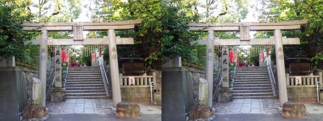 三光神社①(平行法)