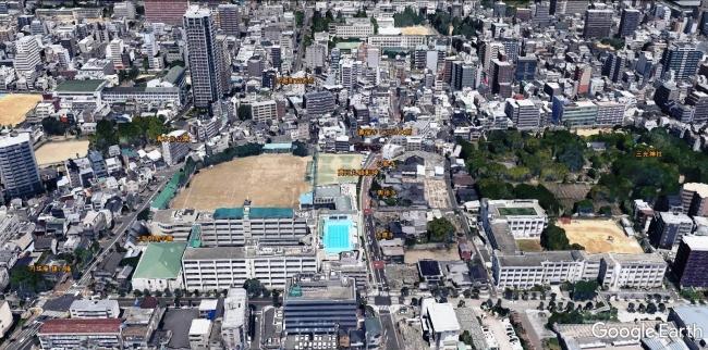 真田丸跡地周辺MAP
