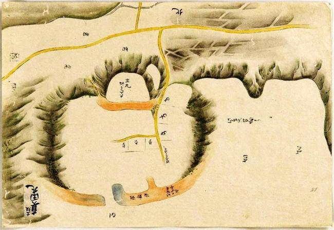 松江歴史館が所蔵する「極秘諸国城図」から発見された真田丸