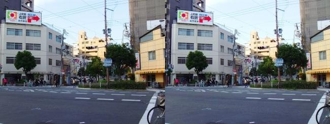 空堀町交差点(平行法)