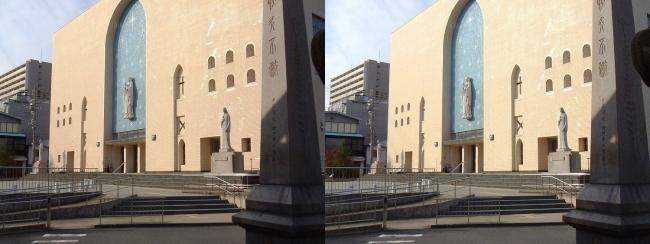 大阪カテドラル聖マリア大聖堂②(平行法)