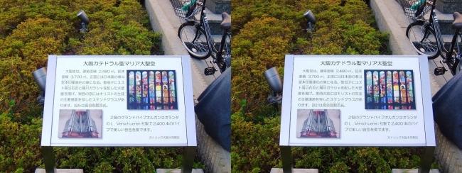 大阪カテドラル聖マリア大聖堂 案内図(交差法)