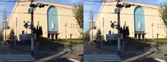 大阪カテドラル聖マリア大聖堂①(平行法)