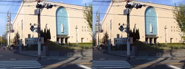 大阪カテドラル聖マリア大聖堂①(交差法)