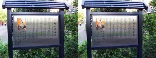 越中井 案内図(交差法)