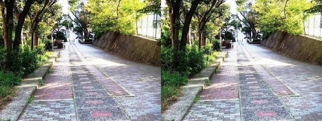 歴史の散歩道 森之宮勝山線①(平行法)