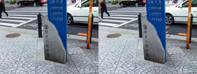 歴史の散歩道 案内図①(平行法)