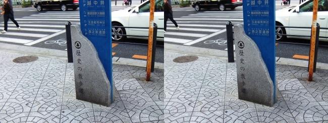 歴史の散歩道 案内図①(交差法)