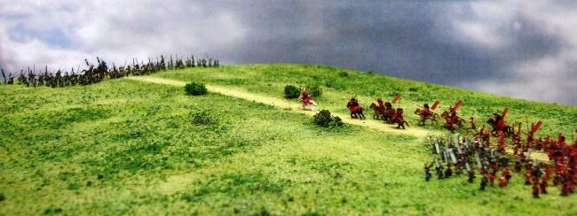 大坂夏の陣の最終決戦となった「天王寺口の戦い」ジオラマ模型