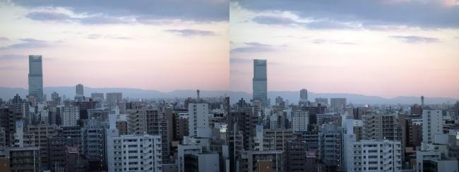大阪医療センターからの眺望②(交差法)
