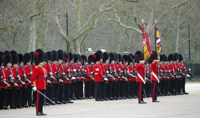英国の歩兵隊