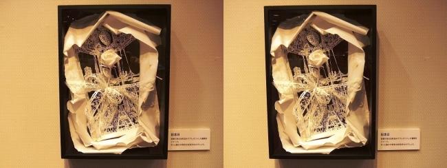 「神の手・ニッポン展」立体切り絵アーティストSouMa「記念日」(平行法)