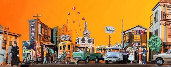 ペーパーアーティスト太田隆司「東京下町 人を、暮らしをのせて」