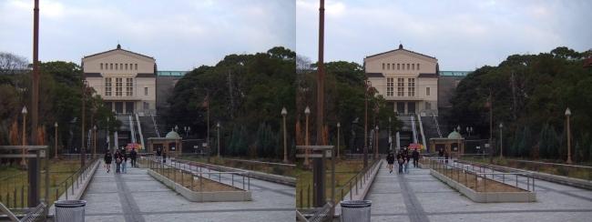大阪市立美術館②(交差法)
