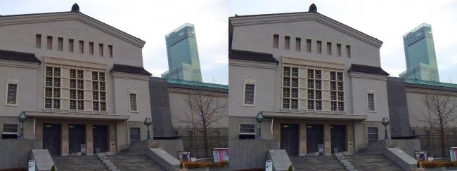 大阪市立美術館①(平行法)