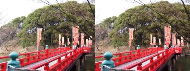 天王寺公園 茶臼山 和気橋①(交差法)