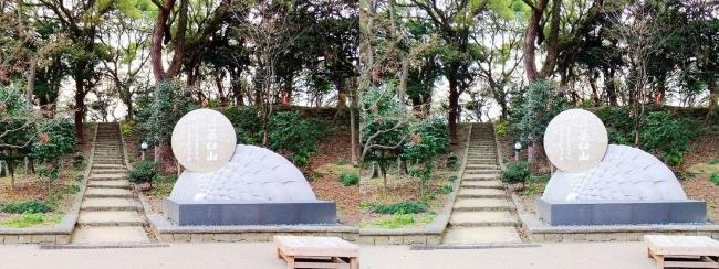 天王寺公園 茶臼山①(平行法)