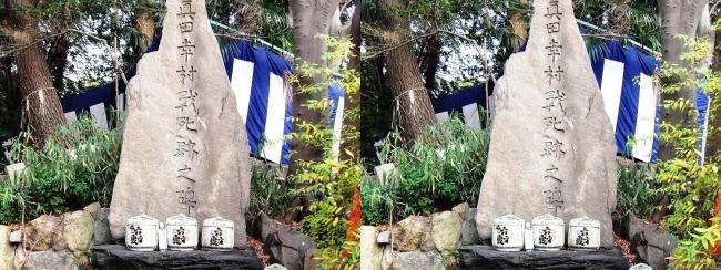 安居神社 真田幸村戰死跡之碑(平行法)