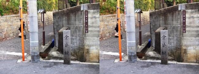 愛染坂③(交差法)
