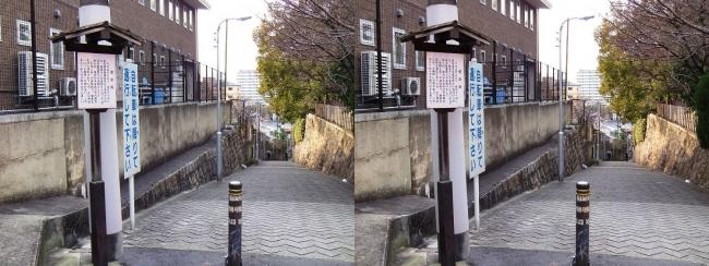 愛染坂①(交差法)