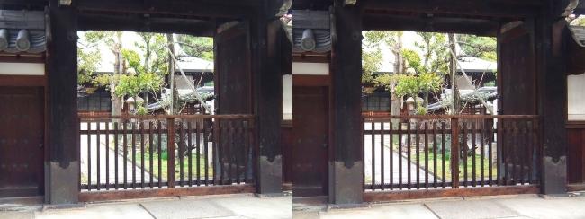松屋町筋 萬福寺①(交差法)
