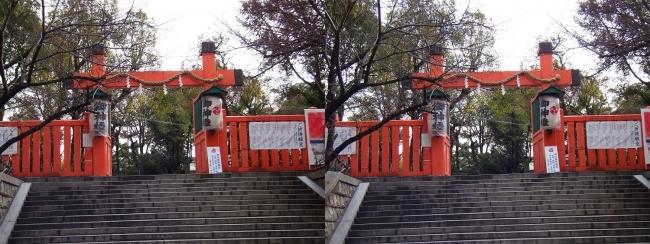 生國魂神社①(平行法)